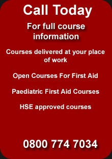First Aid Courses Delivered in London and throughout the UK